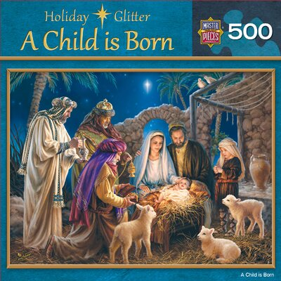 MasterPieces Dona Gelsinger A Child is Born 500 Piece Jigsaw Puzzle