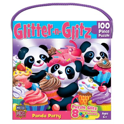 Rondi Kutz Panda Party 60 Piece Jigsaw Puzzle