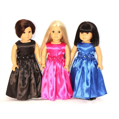 "Arianna Grand Ball Doll Dress for 18"" American Girl Doll"