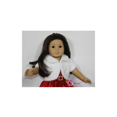 "Arianna Noel Holiday Doll Dress for 18"" American Girl Doll"