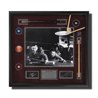 Legendary Art 'The Hustler' Framed Newman/Gleason Picture