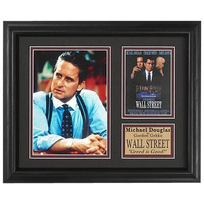 <strong>Legendary Art</strong> 'Wall Street' Movie Memorabilia