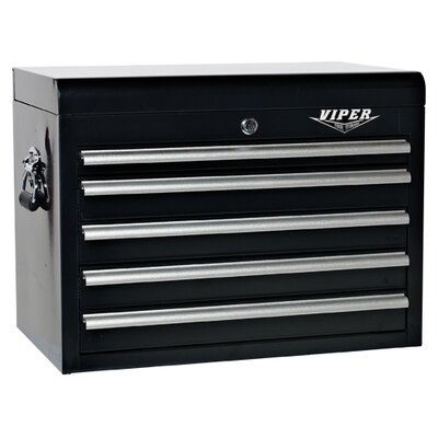 "Viper Tool Storage 25"" 5 Drawer Top Chest"