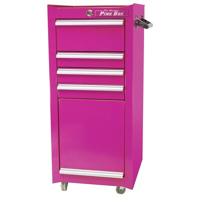 "The Original Pink Box 16"" 4 Drawer Salon / Tool Cart"