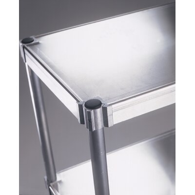 PVIFS Solid Complete 4 Shelf Shelving Unit Starter