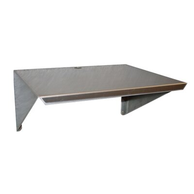 "PVIFS Microwave Wall Mount 12"" H Shelving Unit"