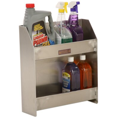 PVIFS Twelve Quart 2 Shelf Organizer