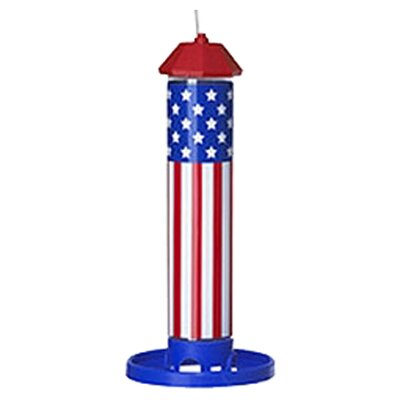 <strong>Pet Zone</strong> American Flag Seed Feeder