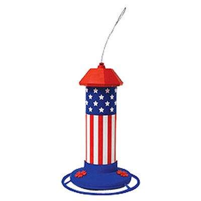 Pet Zone American Flag Hummingbird Feeder