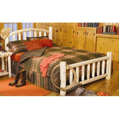 Rustic Cedar Log Slat Bed | Wayfair