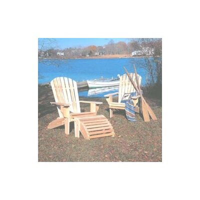 Rustic Natural Cedar Furniture Oversized Adirondack Seating Group
