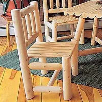 Rustic Natural Cedar Furniture Dining Side Chair