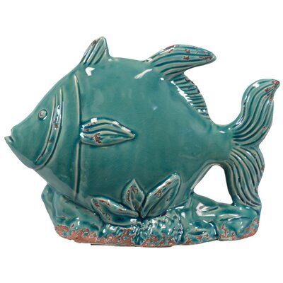 Urban Trends Ceramic Fish Statue