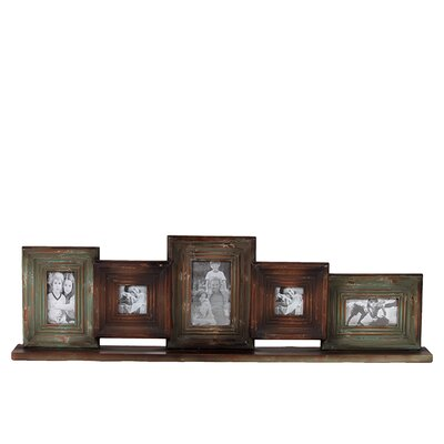 <strong>Urban Trends</strong> Wooden Multi-Photo / Mirrored Picture Frame