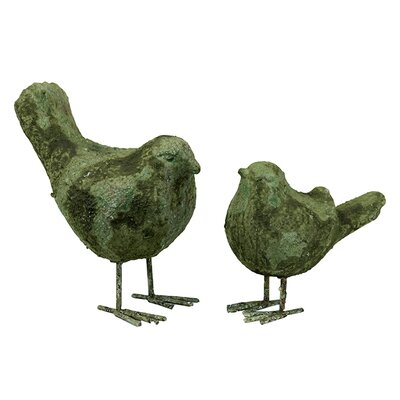 Urban Trends Birds Statue (Set of 2)