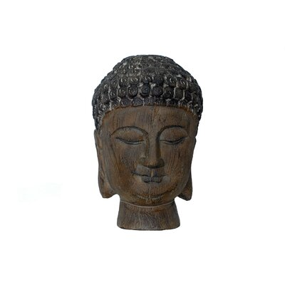 Urban Trends Resin Buddha Head Statue