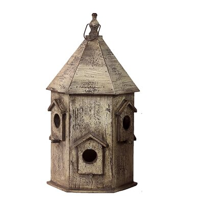 Urban Trends Wooden Bird House