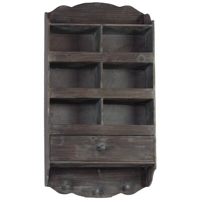Urban Trends Wooden Wall Shelf