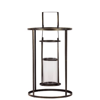 Urban Trends Metal Lantern
