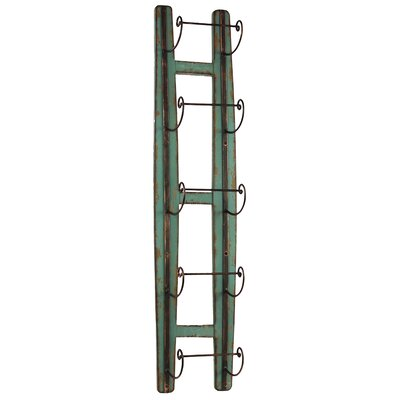 Urban Trends 5 Bottle Wall Mount Wine Rack