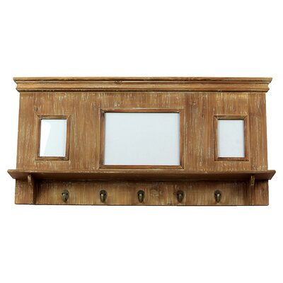 Urban Trends Wooden Picture Frame w/ Hooks