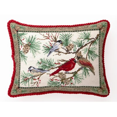 Snowbirds Wool / Cotton Pillow