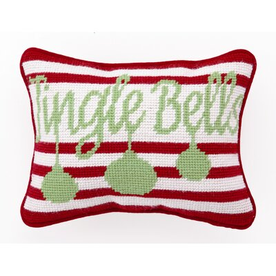 Jingle Bells Wool / Cotton Pillow