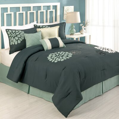 Modern Heirloom Felicity 7 Piece Comforter Set