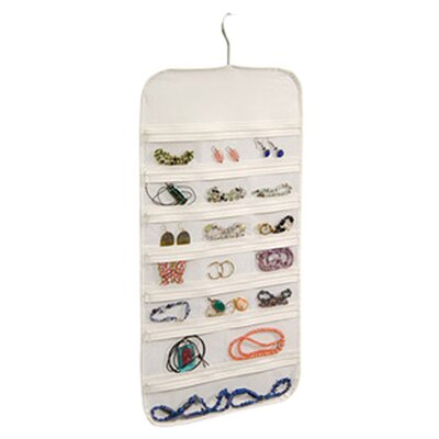 <strong>Richards Homewares</strong> Hanging Jewelry Organizer 37 Pockets Bedroom Closet