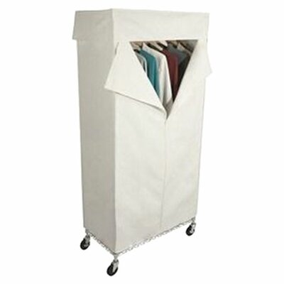 Free Standing Storage Canvas Cover Garment Rack