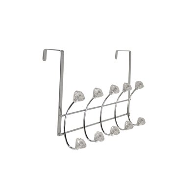 Richards Homewares Bejeweled Over the Door 5 Hook Rack