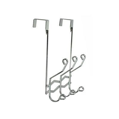 Richards Homewares Naples Over the Door 3 Hook Rack