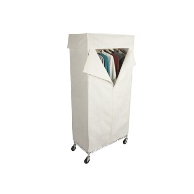 Richards Homewares Free Standing Storage Canvas Cover Garment Rack
