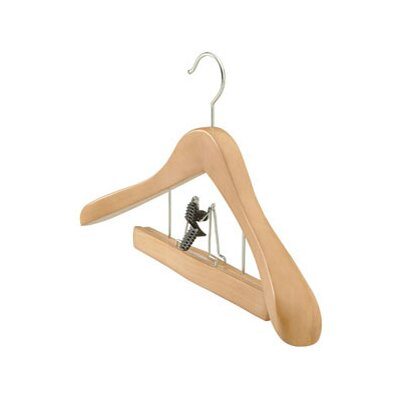 Wood Clamp Deluxe Suit Hanger