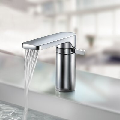 Arola Single Handle Deck Mount Bathroom Sink Faucet - Ramon Soler US-2601-CR