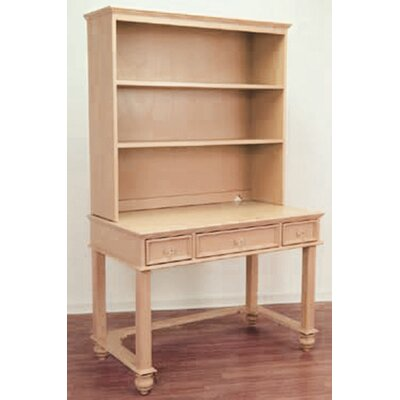 """Relics Furniture Lily Rae 42"""" W Writing Desk with Hutch"""