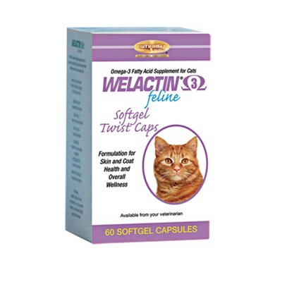 Softgel Caps Cat Skin and Coat care (60 Count)