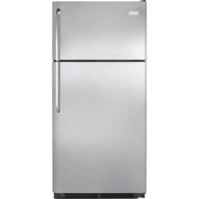 Energy Star 18 Cu. Ft. Top Freezer Refrigerator with Top-Mount Freezer
