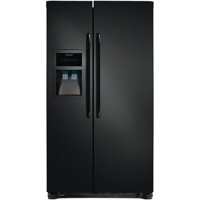 Energy Star 23 Cu. Ft. Side-by-Side Refrigerator/Freezer