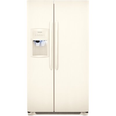 Energy Star 26 Cu. Ft. Side-by-Side Refrigerator/Freezer