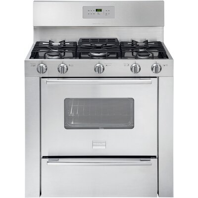 "Frigidaire Professional Series 36"" Gas Freestanding Range with 3.7 Cu. Ft. Self-Clean Oven"