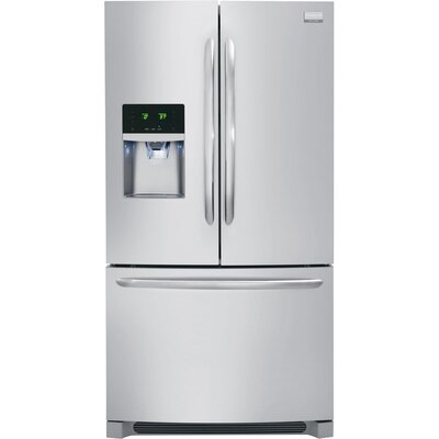 Gallery Series Energy Star Counter-Depth French Door Refrigerator / Freezer with External Water ...