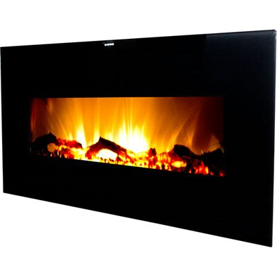 Valencia Extra Wide Wall Mounted Electric Fireplace