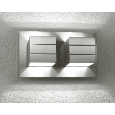 LumenArt Alume 2 Light Wall Sconce
