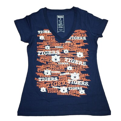 NCAA Women's Rylan Short Sleeve V-Neck T-Shirt