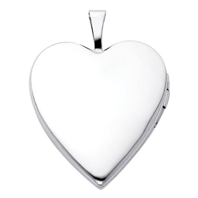 Precious Stars 14k Solid Gold Fully Open Close Function Heart Locket Pendant