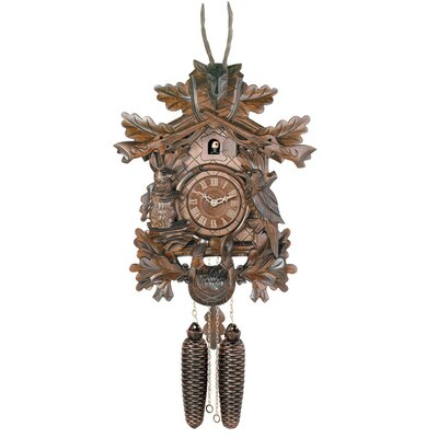 River City Clocks Cuckoo Clock with Live Animals