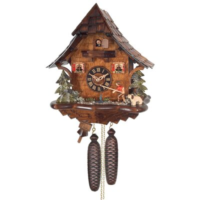 Eight Day Cottage Cuckoo Clock