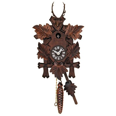Hand-carved Hunter's Quarter Call Cuckoo Clock