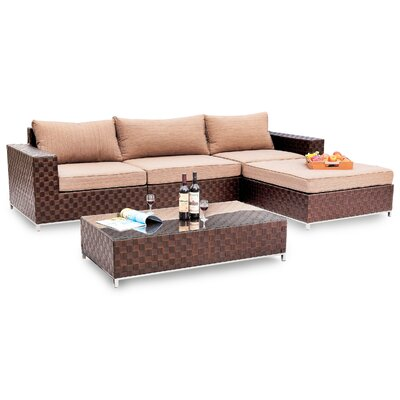 BOGA Furniture Vancouver 5 Piece Sectional Set